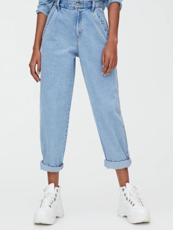 High waist gaucho jean - 29,99 euros.