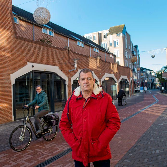 Jos Diependaal is blij met het Apeldoornse noodfonds. Zijn winkelcentrum de Eglantier zal er dankbaar gebruik van maken.