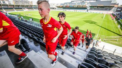 Succesvolle eerste editie van 'KVO Etixx Run': 400 lopers puffen en zweten in Versluys Arena