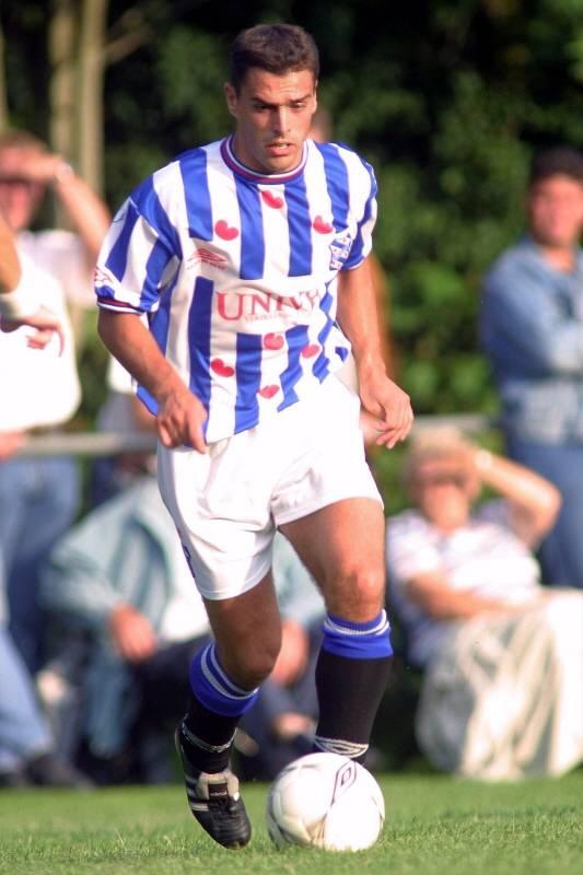 Atnhony Lurling in 2001 als speler van Heerenveen.
