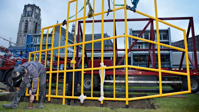 Gemeente Rotterdam slijpt kunstwerk in tweeën, kunstenaar boos: 'Ik moest er echt even van bijkomen'