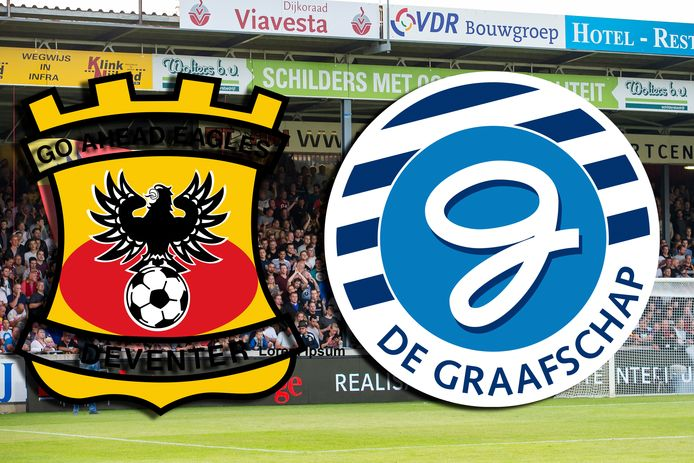Go Ahead Eagles-De Graafschap is vastgesteld op dinsdag 13 oktober.
