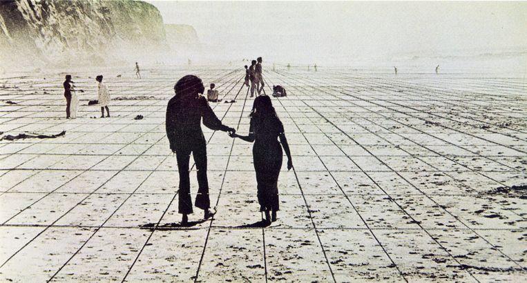 'Gli Atti Fondamentali', 'Vita (Supersuperficie)', 'Viaggio da A a B', 1971 Beeld SUPERSTUDIO MIGRAZIONI
