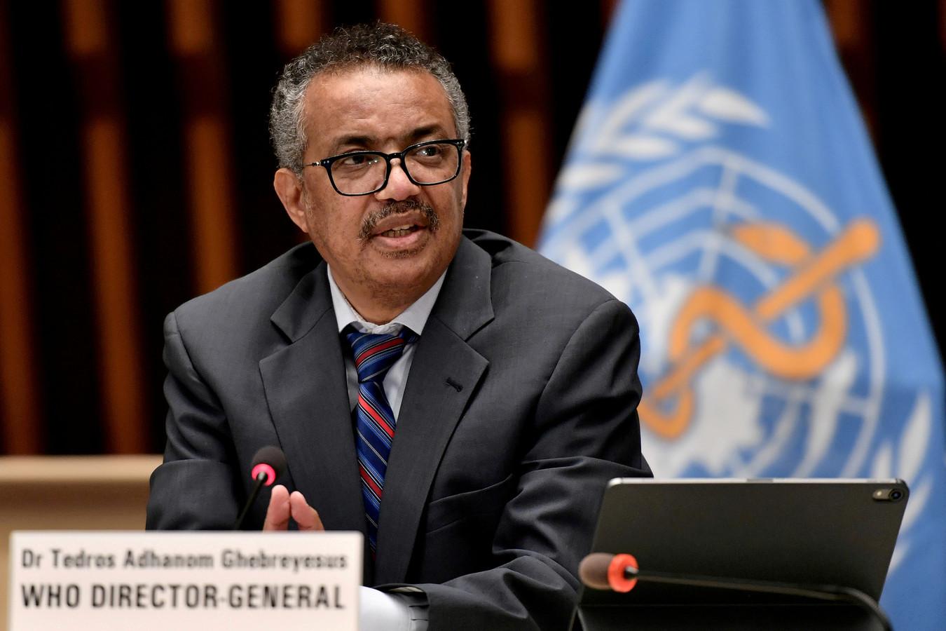 Tedros Adhanom Ghebreyesus, directeur général de l'OMS.