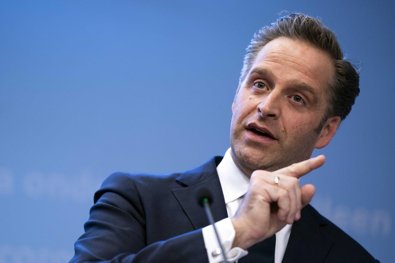Demissionair minister Hugo de Jonge (Volksgezondheid, Welzijn en Sport)
