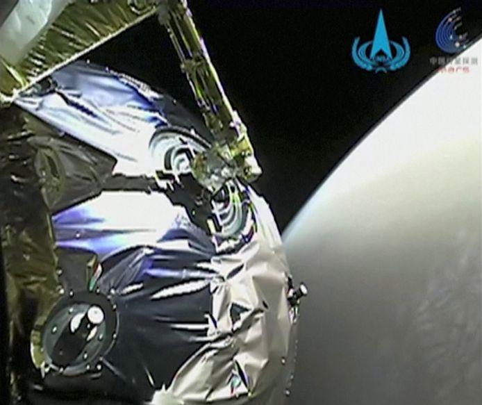 Tianwen-1 en orbite de Mars
