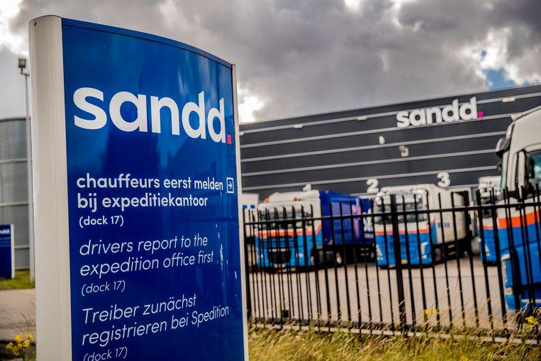 Het hoofdkantoor van postbedrijf Sandd in Apeldoorn. Beeld Rob Voss