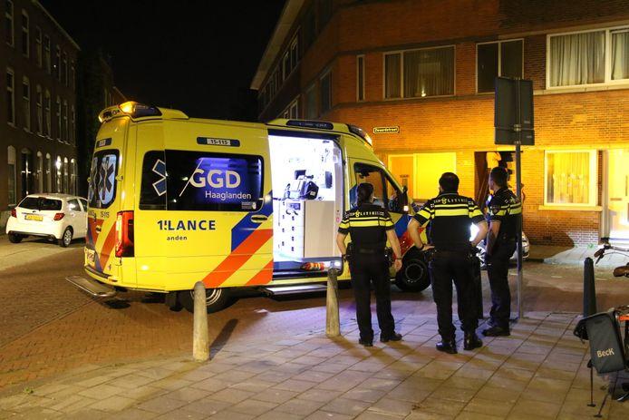 Man gewond na ruzie in woning Zwaardstraat Den Haag