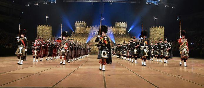 Het megaspektakel Music Show Scotland, met veel Borculose deelnemers.