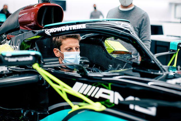 Romain Grosjean mag volgende maand bij Mercedes testen.