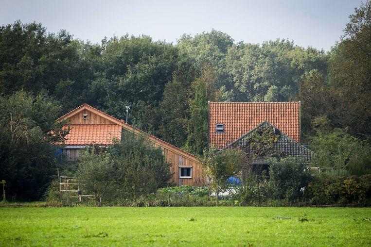 De boerderij te Ruinerwold.  Beeld EPA