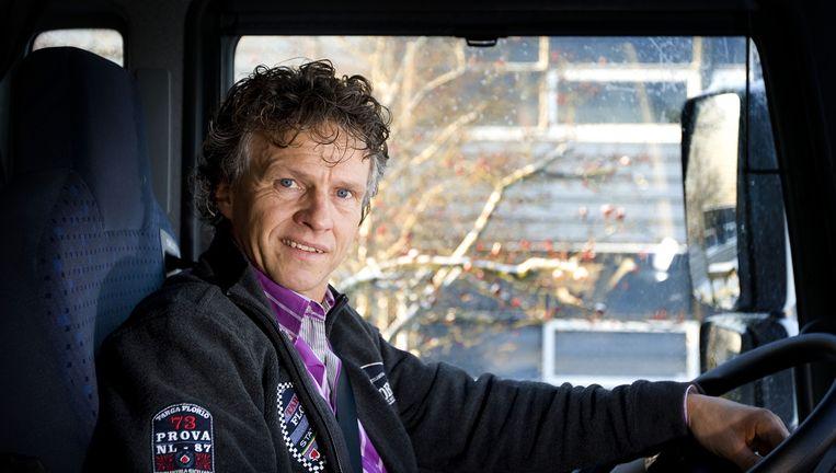 Oud-coureur Jan Lammers. Beeld ANP