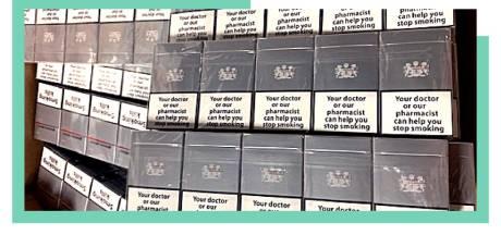 Douane vindt bijna 10 miljoen illegale sigaretten in bedrijfspand bij Veenendaal: 'Ingevoerd als koekjes'