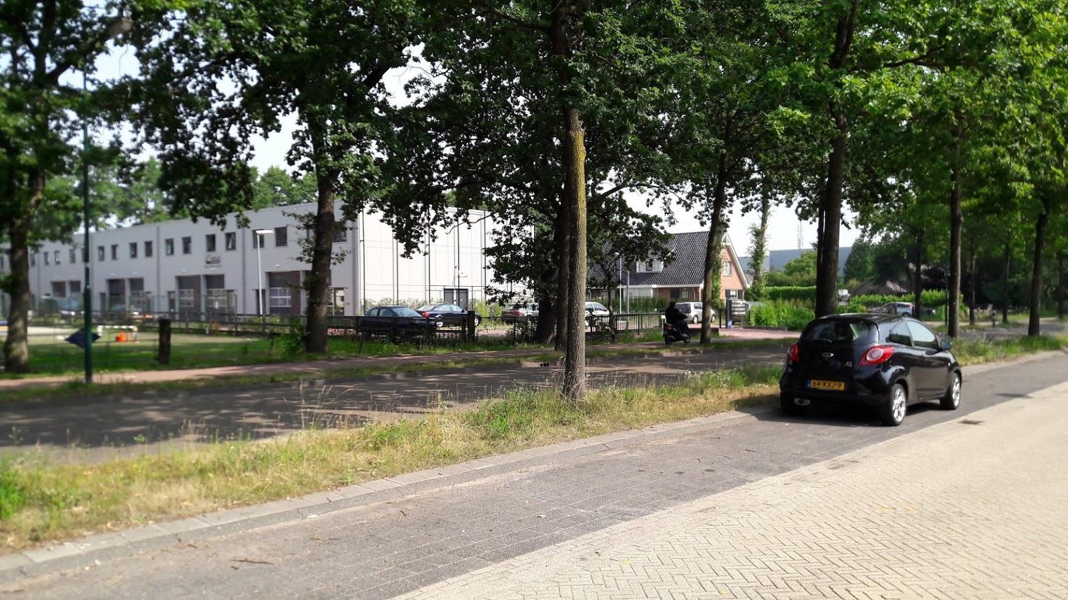 De 'blokkendoos' aan de Dorresteinweg.