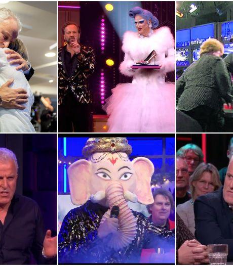 Van wijn in het gezicht tot de roast van Humberto: tien memorabele tv-momenten