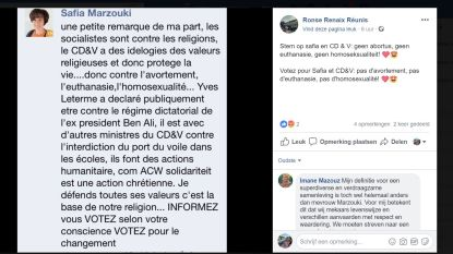 Facebookbericht stelt CD&V Ronse in slecht daglicht
