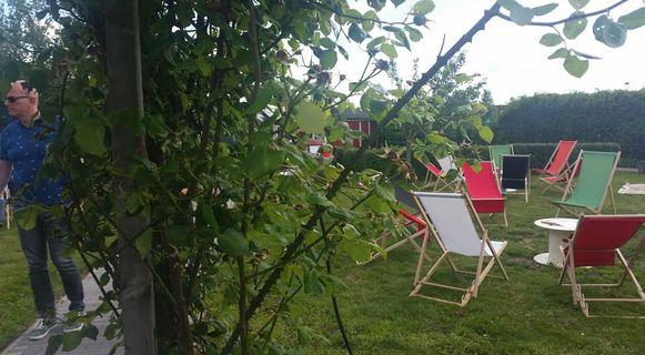 De cliënten van De Hoop waren tevreden met de tuinmeubelen.
