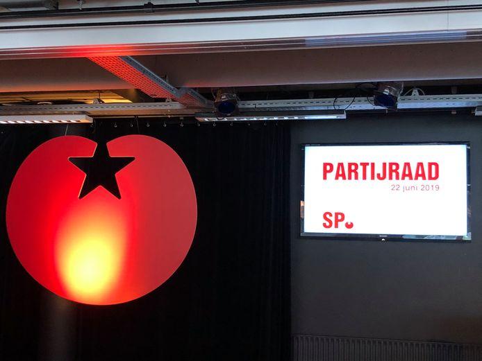 De partijraad van de SP vindt plaats in Amersfoort, op het partijkantoor