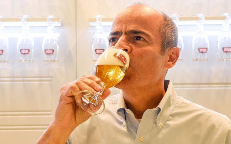 Carlos Brito, CEO van AB Inbev. Beeld Photo News