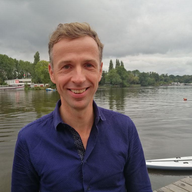 Christiaan Bramer is de nieuwe Sinterklaas van Amsterdam. Beeld Het Parool
