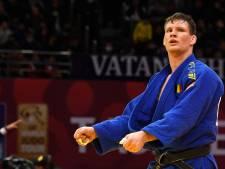 Matthias Casse en finale des moins de 81 kg aux championnats d'Europe