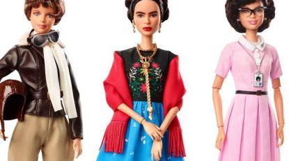 Mattel lanceert Barbie van Frida Kahlo en 13 andere vrouwelijke rolmodellen