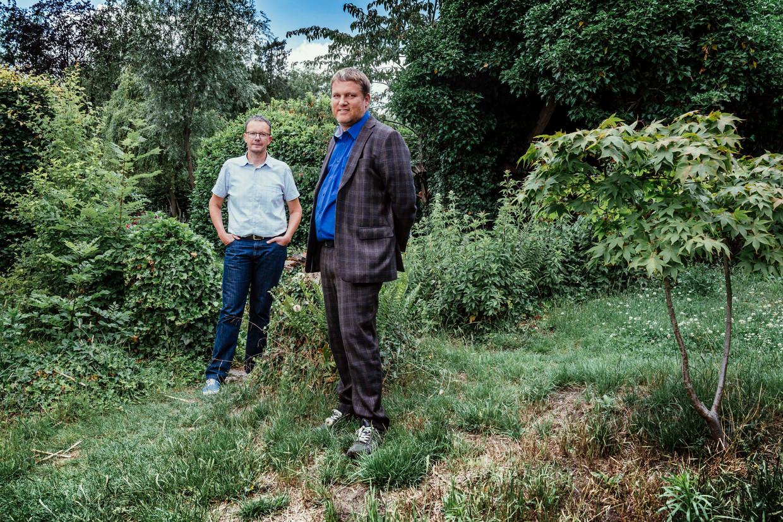 Ive Marx en Ivan Van de Cloot.  Beeld © Stefaan Temmerman