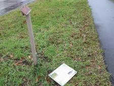 Vandalisme luidt einde verhalenroute Sterksel in