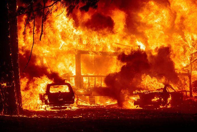 Dixie Fire in Greenville.