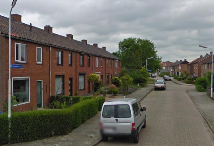 De Firensstraat in Sas van Gent.