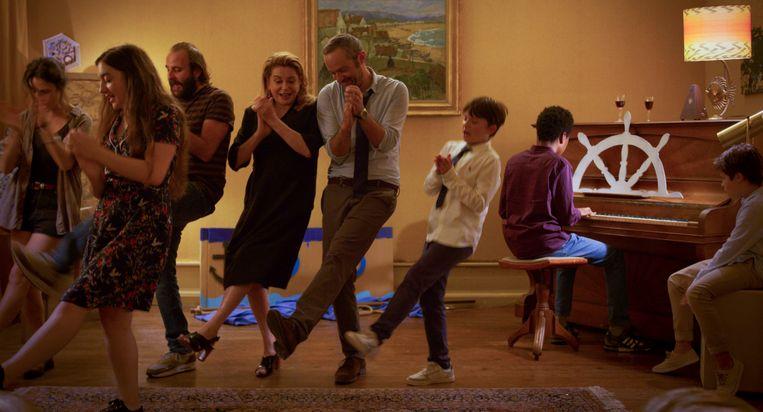 Still uit de Franse film 'Fête de Famille'. Beeld Le Pacte