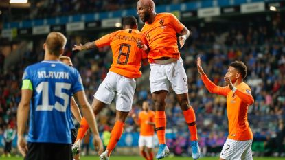 Oranje kent zorgeloze avond in Estland, Duitsland herstelt van opdoffer na gepassioneerde match