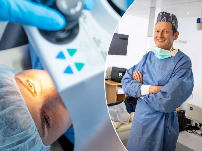 """Aantal ooglaserbehandelingen stijgt fors door corona: """"Kostprijs na 7 à 8 jaar terugverdiend"""""""