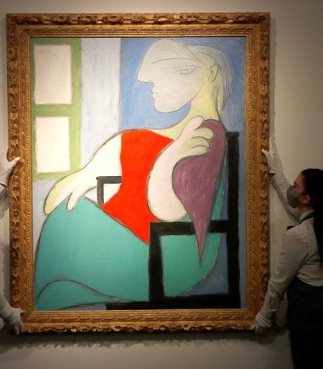 Schilderij Picasso in New York geveild voor 85 miljoen euro, werk Van Gogh brengt 30,9 miljoen euro op