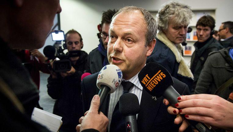 Burgemeester Henri Lenferink. Beeld ANP