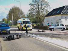 Scooterrijder gewond door ongeval in Velswijk