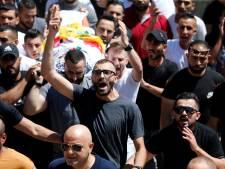 Palestijnen slaags met Israëlisch leger na begrafenis doodgeschoten 11-jarige jongen