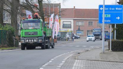 Nieuwe fietspaden op N449 nog niet voor morgen