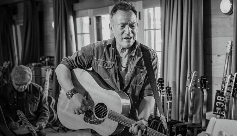 'Bruce Sringsteen's Letter to You'. Beeld Apple