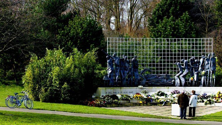Het Indisch monument in Den Haag. Beeld anp