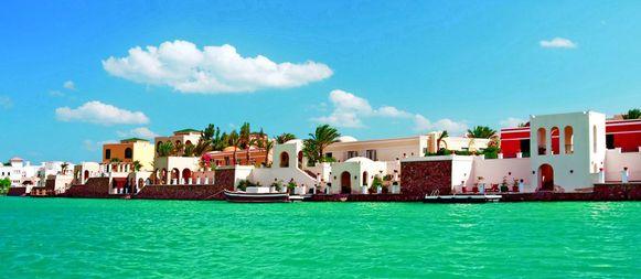 Luxe aan de Rode Zee: El Gouna pronkt met luxehotels, somptueuze villa's en een indrukwekkende jachthaven.