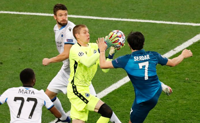 Ethan Horvath verving Mignolet in Sint-Petersburg (1-2).