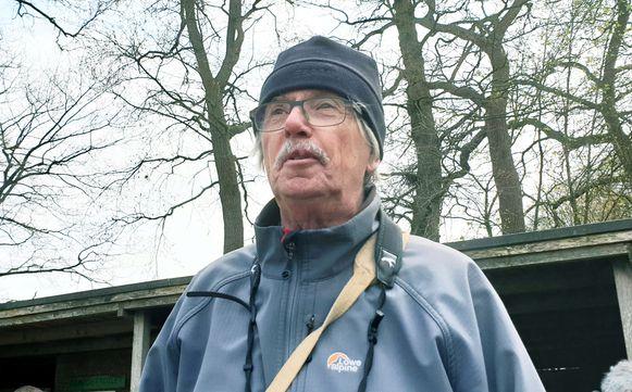 Herman Lenoir van het platform.