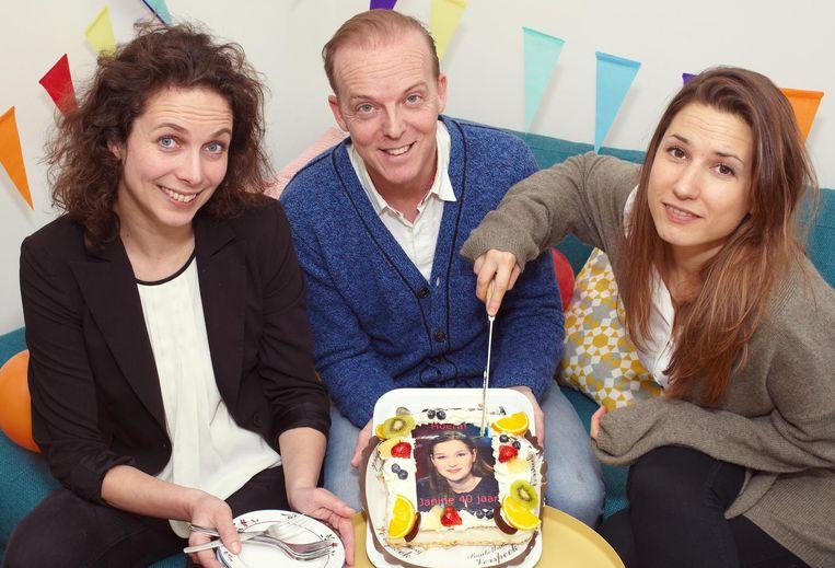 Nadia Wijzenbeek, Wouter Vossen en Rosanne Philippens Beeld
