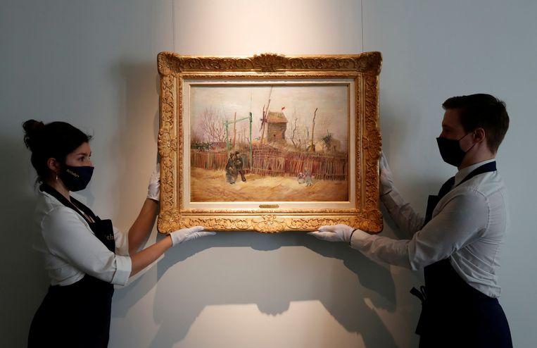 'Scène de rue à Montmartre' bracht meer op dan verwacht. Beeld REUTERS