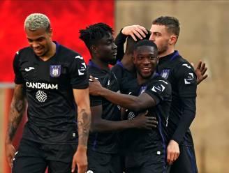 Anderlecht bibbert nog even, maar blijft toch overeind op Sclessin na goals van Amuzu, Lawrence en Dauda