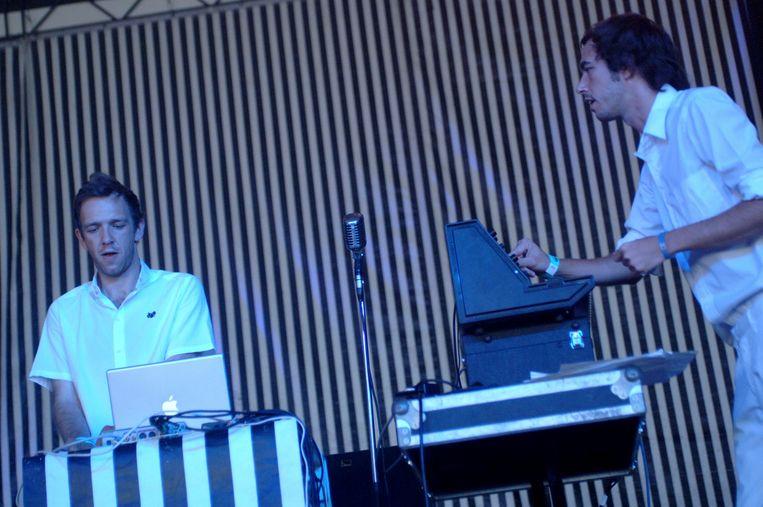 Pukkelpop - Hasselt - Dag 1 - 18/08/2005 Beeld Gie Knaeps /Humo