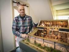 Door ziekte kan molenaar Ed (70) uit Vasse zijn droom niet afmaken, maar op zijn laatste creatie kan hij trots zijn