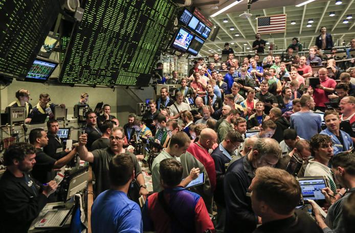De eerste dag werden er al een paar duizend bitcoin futures verhandeld op de optiebeurs in Chicago.