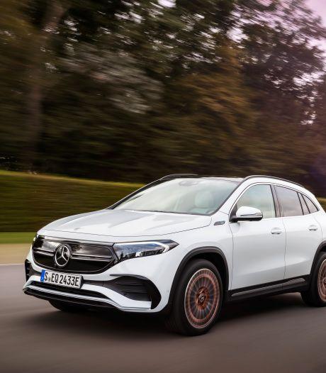 Mercedes-Benz EQA: elektrisch 'instapmodel' kost 49.995 euro en haalt 'straks meer dan 500 kilometer'
